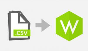 Zendingen importeren via CSV files