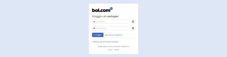 Bol.com inloggen verkoper