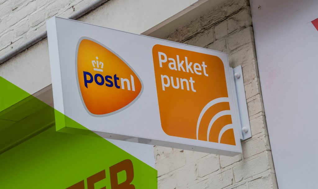 Pakket ophalen bij een pick up point