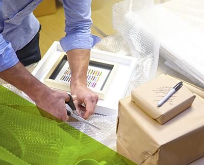 Efficiënt orderpicken en verpakken