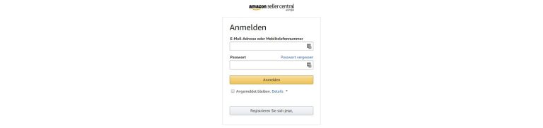 Amazon seller central inloggen