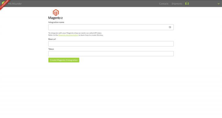 Magento 2 MyWuunder integratie