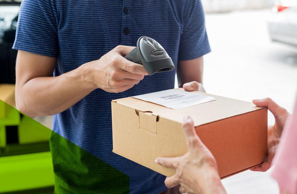 Scan pakketje